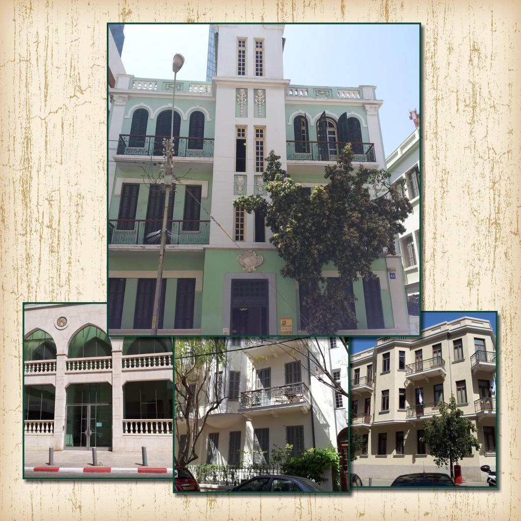 Tel Aviv Historical Buildings